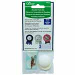 For use with Rosette Maker template. Available in both small and large, package includes additional parts for 3 rosettes.