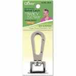 Personalize your creations with Nancy Zieman's functional yet stylish Bag Hardware Options! For a functional yet stylish closure, use the Swivel Latch with D-Rings, O-Rings or Rectangle Rings. Size: <sup>3</sup>&frasl;<sub>4</sub>&quot; (18mm), Glossy Nickel.