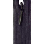 Invisible #2.5 nylon coil, ultra light weight, closed end. Ideal for dress, skirt and pant use.
