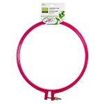 Plastic embroidery hoop. Ideal for embroidery. 20cm. Pink.
