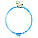 Plastic embroidery hoop. Ideal for embroidery. 25cm. Blue.