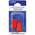 Use these needle protectors to cap and safely keep your needles together.