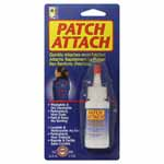 Permanent, non-toxic glue. Quickly attaches most patches, appliqués or emblems. Washable and dry cleanable.