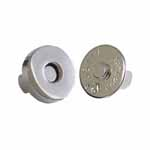 ELAN Magnetic Closures are great for making a quick-close fastener on bags, heavier-weight garments, and home décor items. Available in a variety of sizes and finishes, with clip-on or sew-on application, to suit your needs.