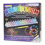 Kit includes; the Wonder Loom<sup>TM</sup>, pick tool, 24 &quot;C&quot; clips, 600 latex free rubber bands and easy to follow instructions.