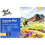 A4, 280 gsm, 10 sheet canvas pad measuring 21 x 29.7cm is acrylic Gesso primed, Acid-free and suitable for all mediums.