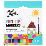 Explore different combinations with these 12 brilliant colours which kids have the essential on hands for crafty projects and lets them discover and create something wonderful. Kids Felt Tip Markers are amazing for drawing and colouring. The thin tips 0.08″ (2.2mm) allow for intricate, detailed and outlined works.
