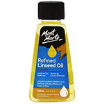 Use Refined Linseed Oil to slow down the drying time of the paint, and when painting in layers, this can be very useful. To paint quickly using wet on wet techniques, this mid-viscosity oil paint medium is a great choice.