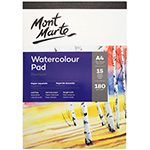 This sketch pad is practical and easy to use. Mont Marte Signature Sketch Pads will help you whatever it is your creations sense sketching. This pad has 15 sheets of 180gsm, Acid-free, German with medium tooth textured paper. Practical painting tips are included on the inside cover. Available in A5, A4 and A3.